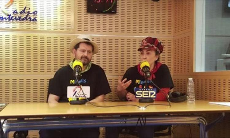 """Presentación de """"Canta Connosco"""" en Radio Pontevedra"""