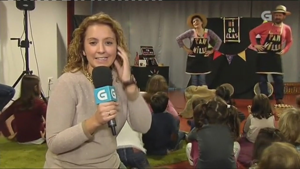 Noelia Vázquez no Centro Ágora con Migallas Teatro