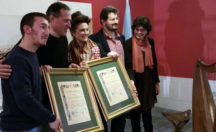 Entrega do Premio Xoán Manuel Pintos