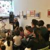 Actuación de Migallas Teatro no Espacio Kalandraka de Madrid