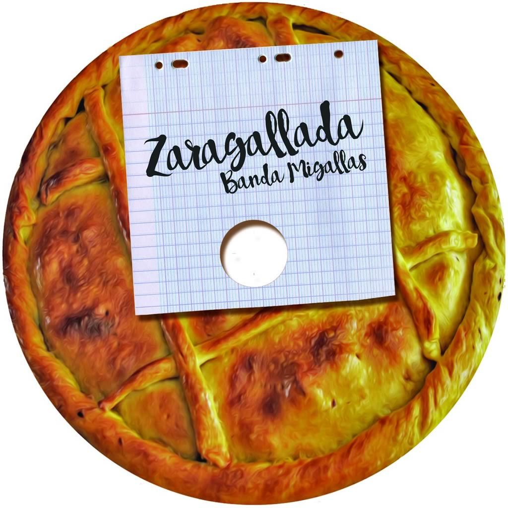 Ilustración do disco Zaragallada